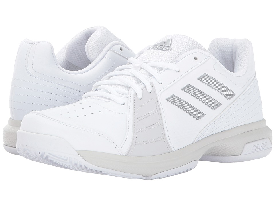 adidas - Aspire (White/Silver Metallic/Grey) Women's Shoes