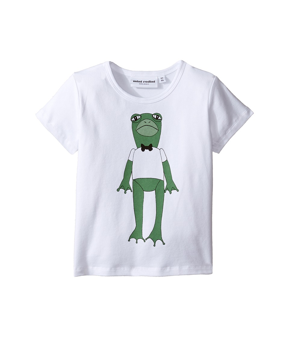 mini rodini - Frog Short Sleeve Tee (Infant/Toddler/Little Kids/Big Kids) (Green) Boy's T Shirt