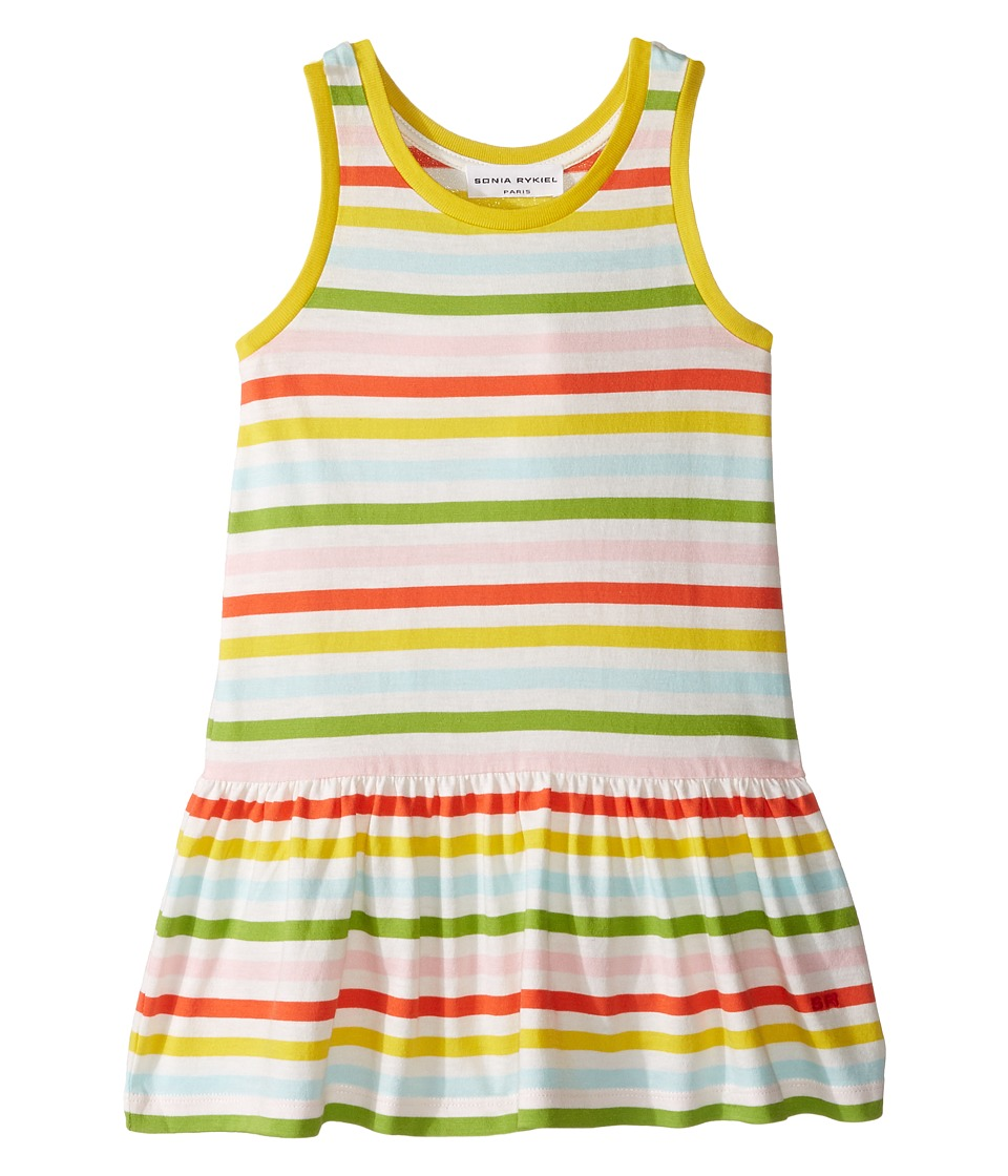Sonia Rykiel Kids - Sleeveless Striped Dress (Toddler/Little Kids) (Multi/White) Girl's Dress