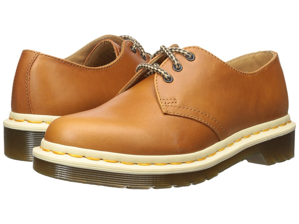 Dr. Martens - 1461 3-Eye Shoe (Oak Analine) Lace up casual Shoes