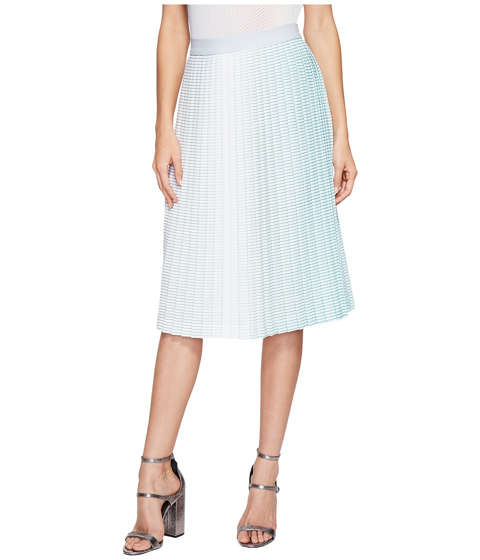 Kitty Joseph - Pleated Skirt (Bubble Stripe) Women's Skirt