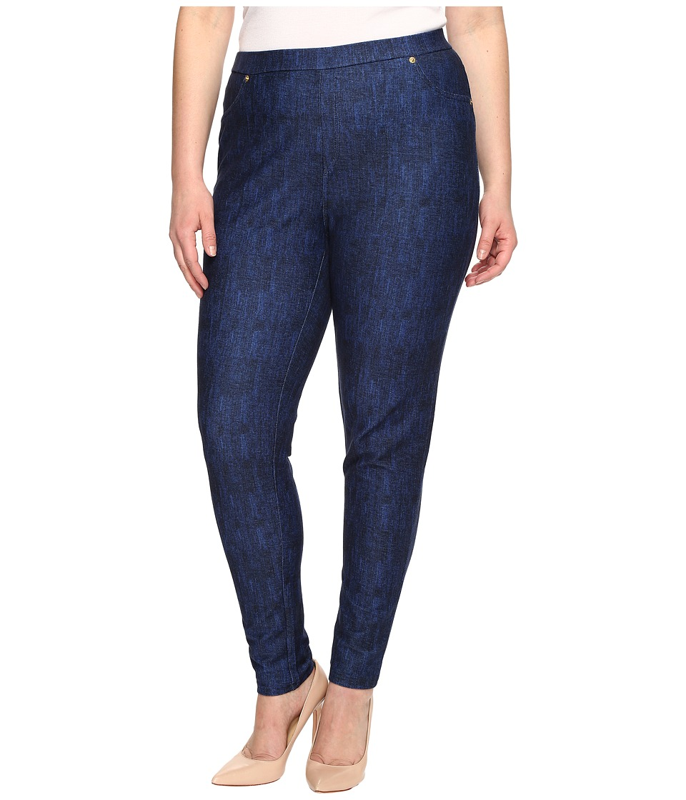MICHAEL Michael Kors - Plus Size Denim Pull-On Leggings in Blue Indigo (Blue Indigo) Women's Jeans