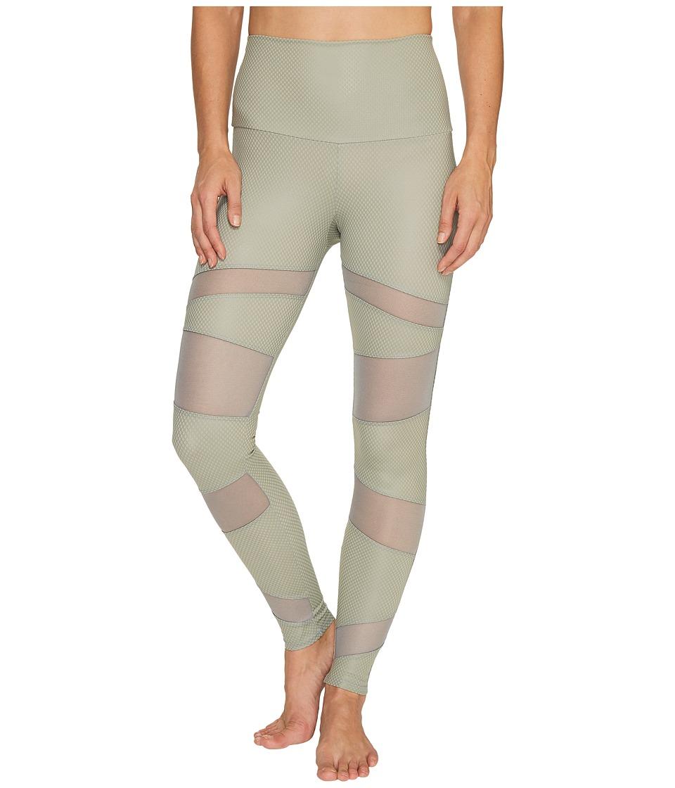 Onzie - Bondage Leggings (Stone Combo) Women's Casual Pants