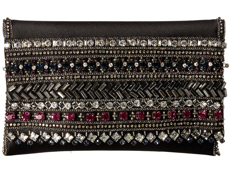 Oscar de la Renta - Petite Evening Bag (Black Multi) Handbags