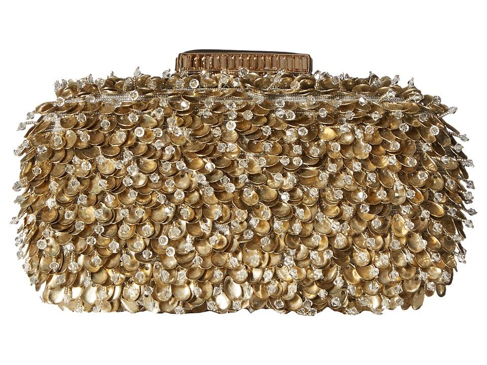 Oscar de la Renta - Goa Clutch (Gold) Handbags