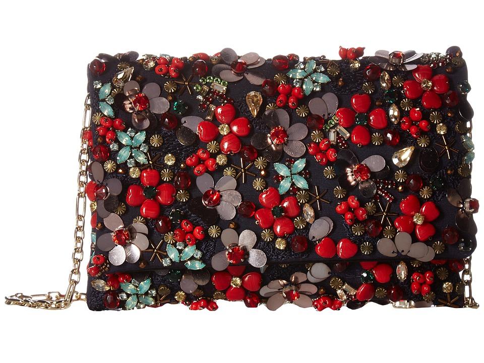 Oscar de la Renta - Petite Evening Bag (Red Multi) Handbags