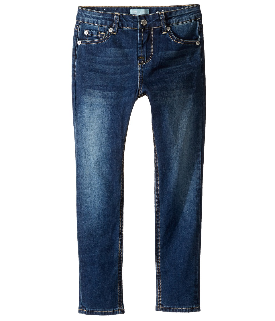7 For All Mankind Kids - The Skinny B (Air) Jeans in Medium Timeless Blue (Little Kids) (Medium Timeless Blue) Girl's Jeans