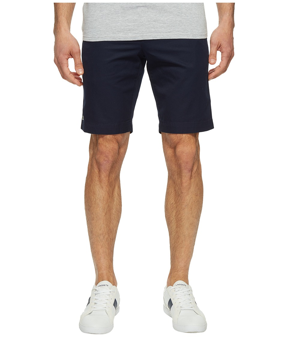 Lacoste - Slim Bermuda Shorts (Navy Blue) Men's Shorts