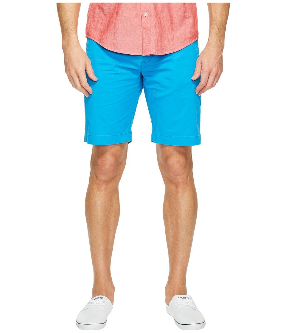 Lacoste - Twill Stretch Bermuda (Loire Blue) Men's Shorts