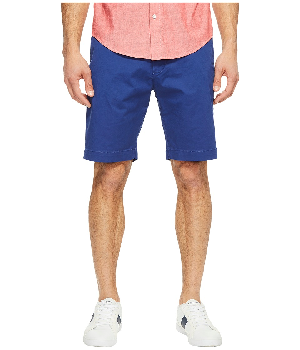 Lacoste - Twill Stretch Bermuda (Ocean) Men's Shorts