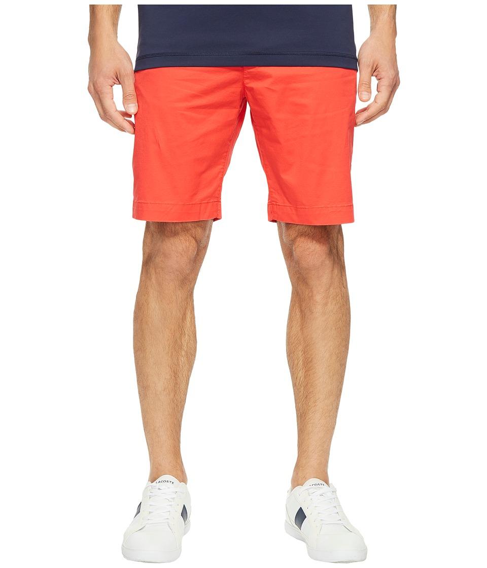 Lacoste - Twill Stretch Bermuda (Grenadine) Men's Shorts