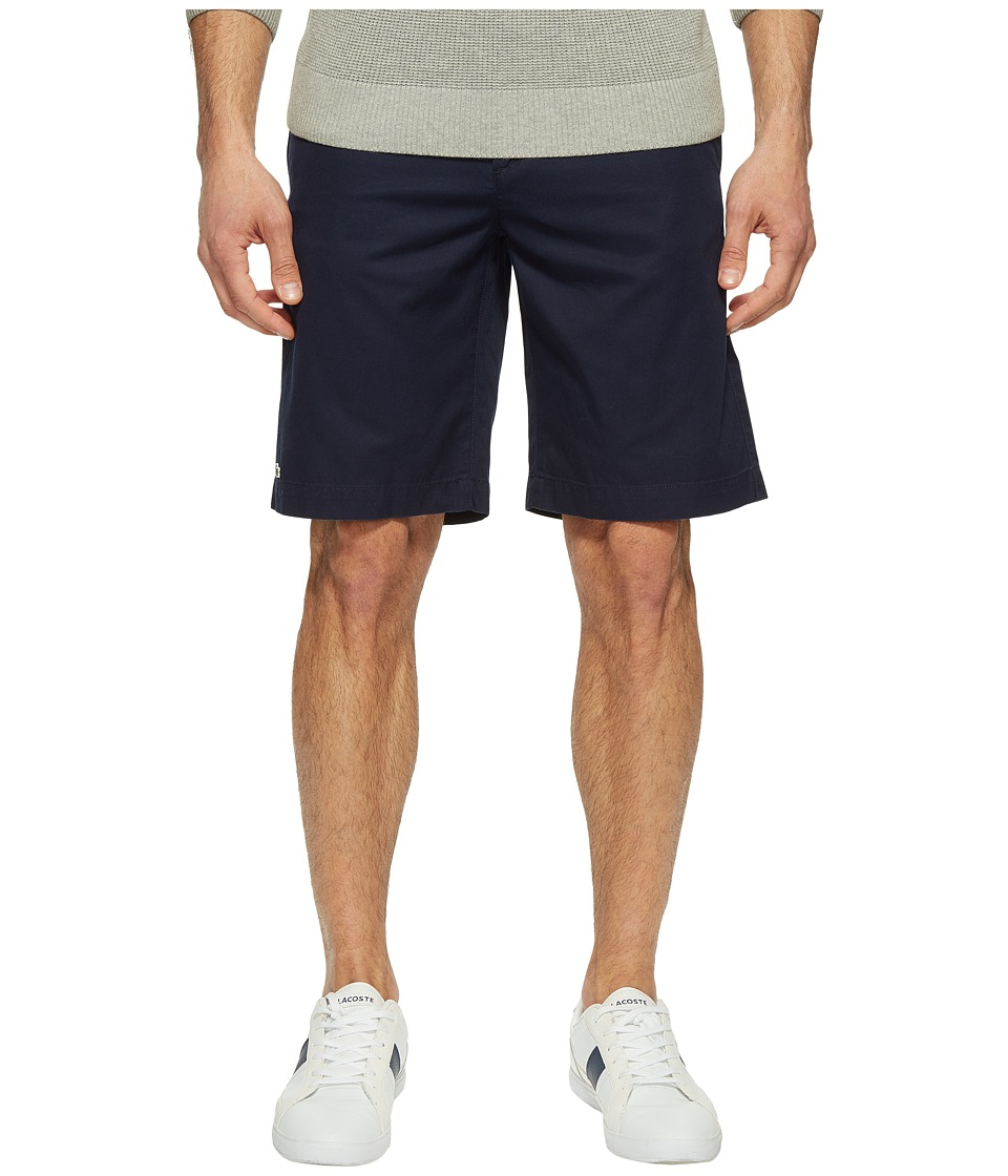 Lacoste - Classic Bermuda Shorts (Navy Blue) Men's Shorts