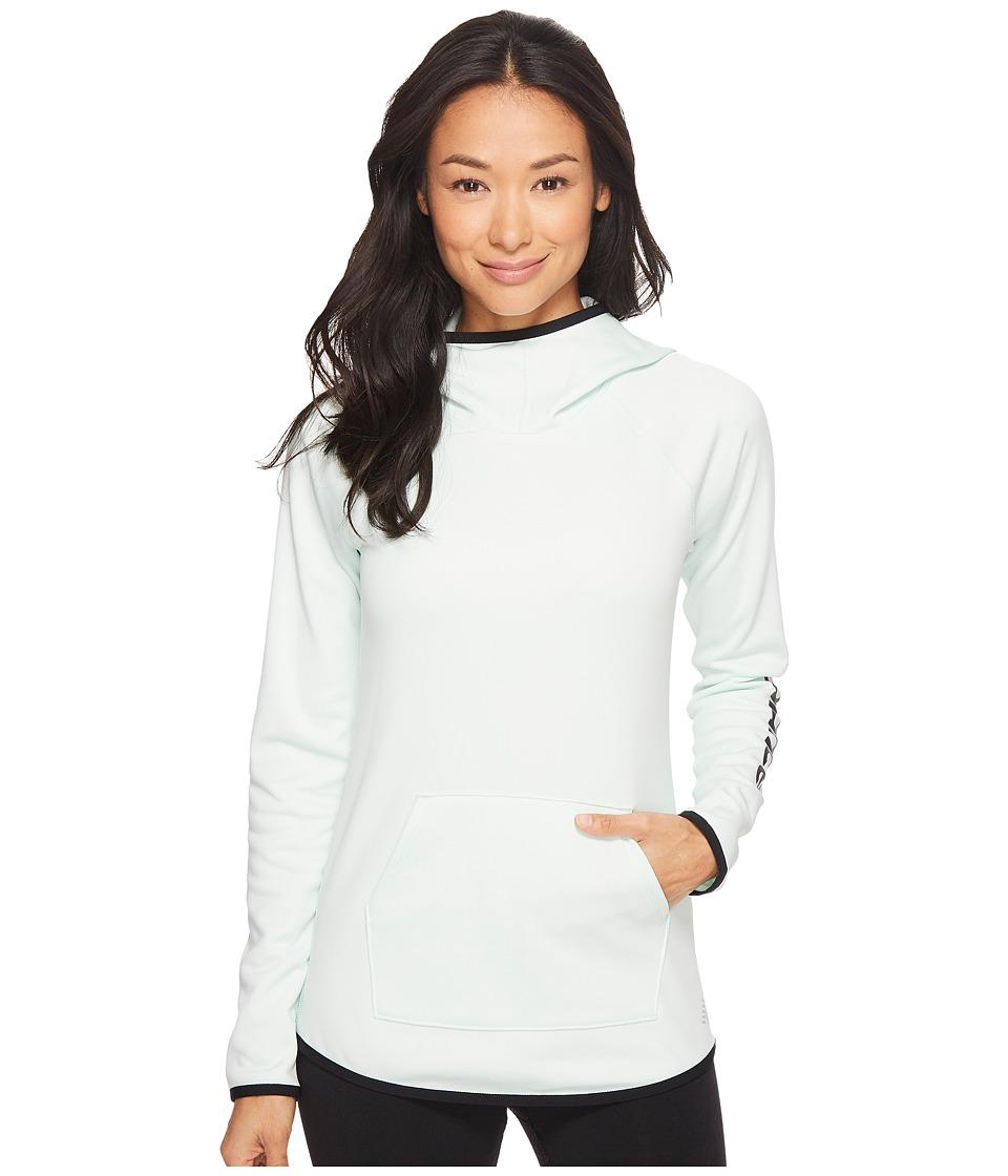 New Balance - Accelerate Fleece Hoodie (Water Vapor) Women's Clothing