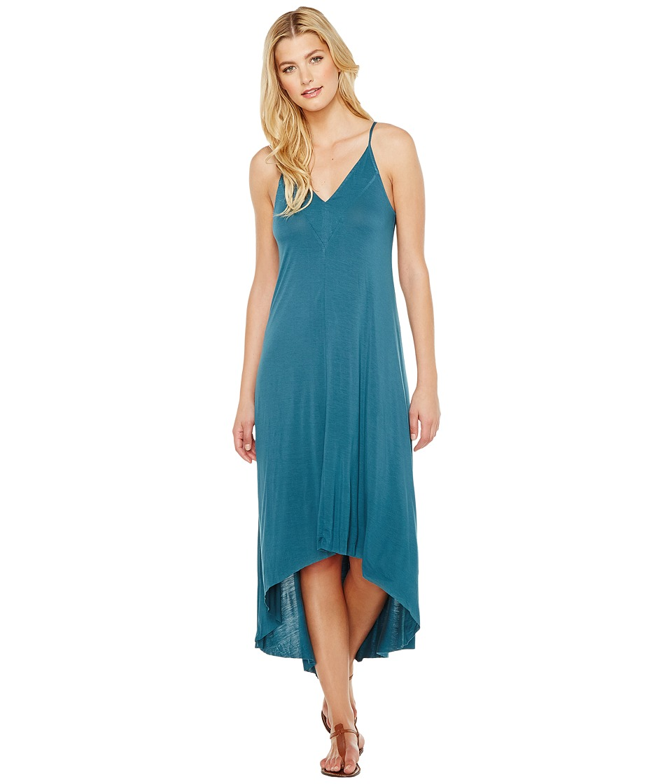 Splendid - V-Neck Dress (Tapestry Green) Women's Dress