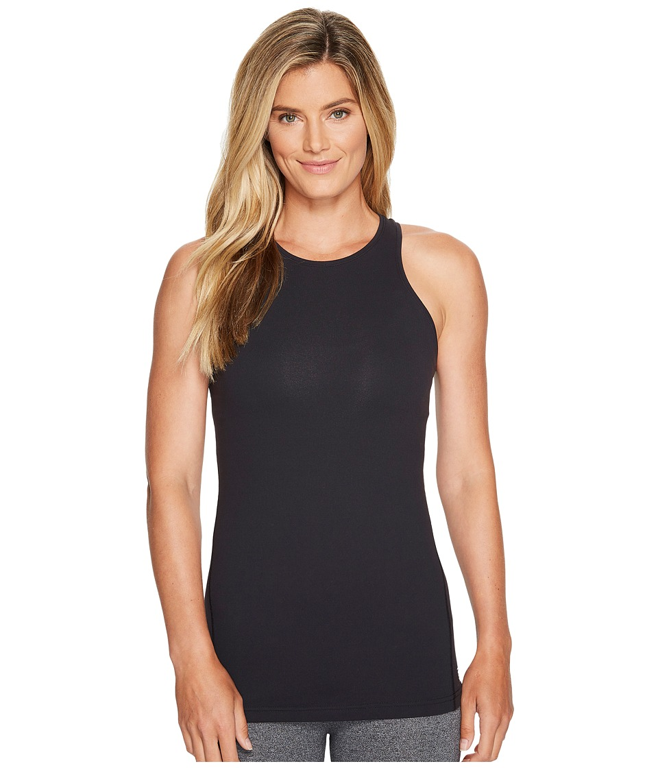 New Balance - Open Back Tank Top (Black) Women's Sleeveless