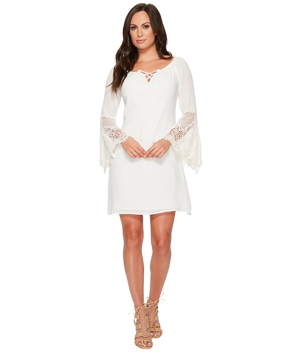 Union of Angels - Marcella Dress (White) Women's Dress
