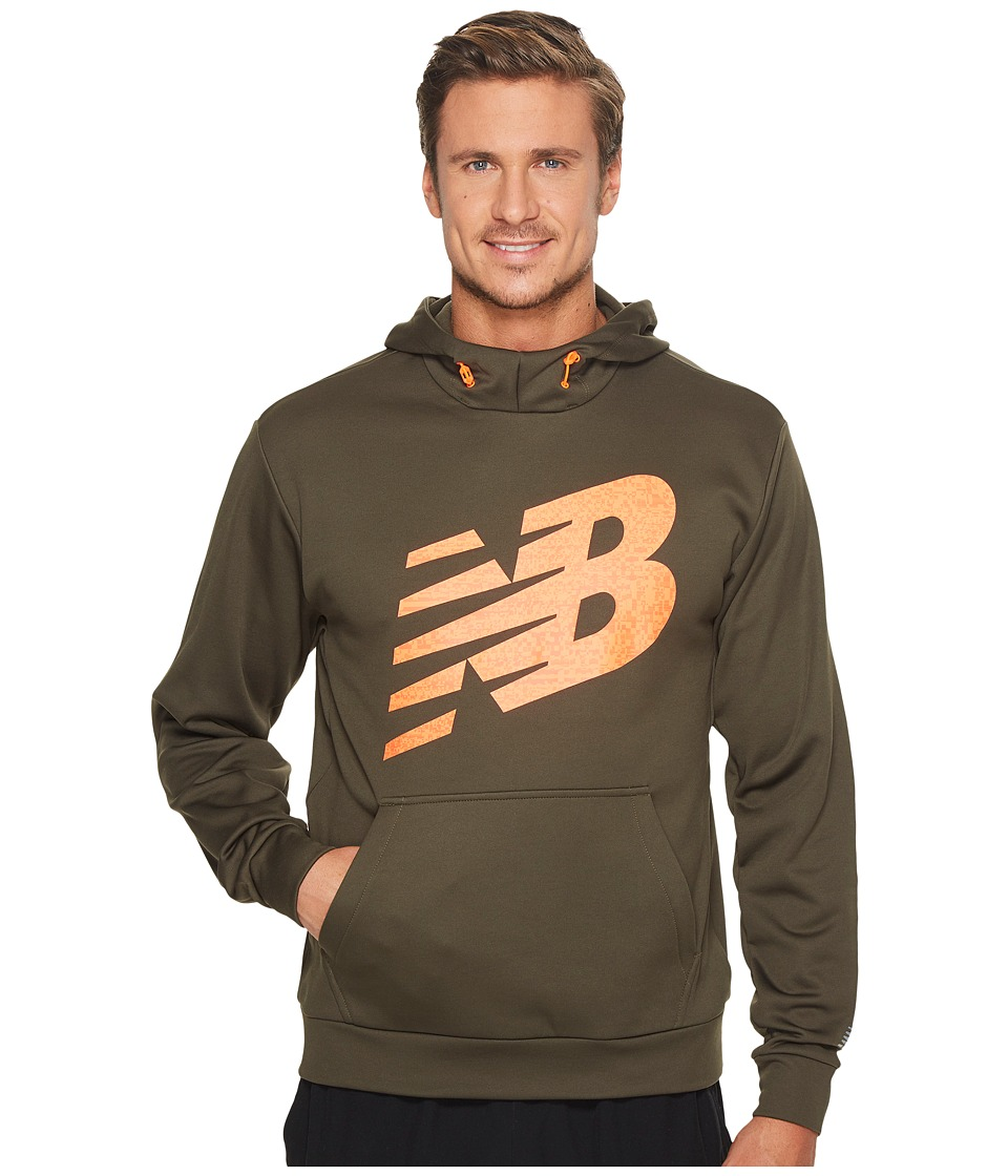 New Balance - Game Changer Fleece Hoodie (Military Dark Triumph/Green) Men's Sweatshirt