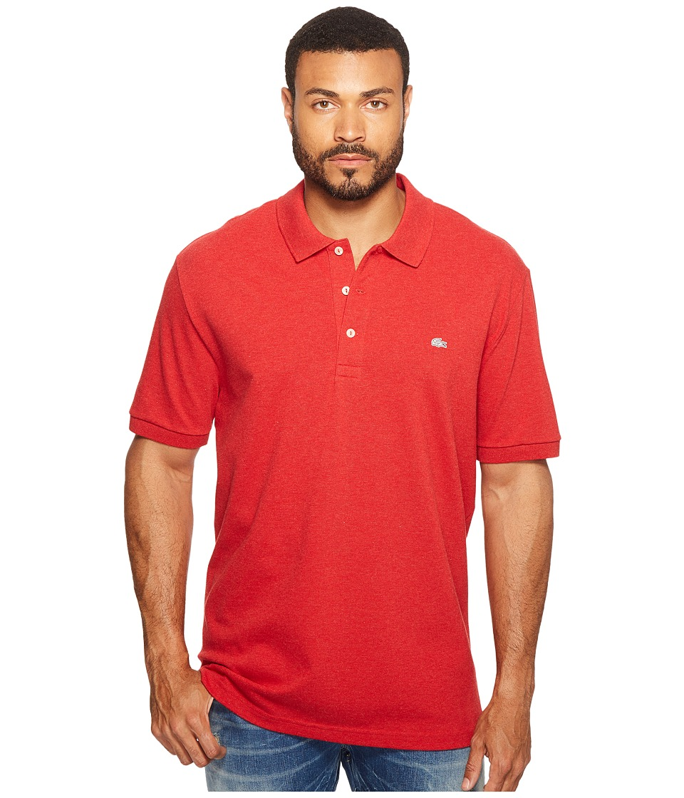 Lacoste - Stretch Petit Pique Slim Fit Polo (Grenadine Chine) Men's Short Sleeve Pullover