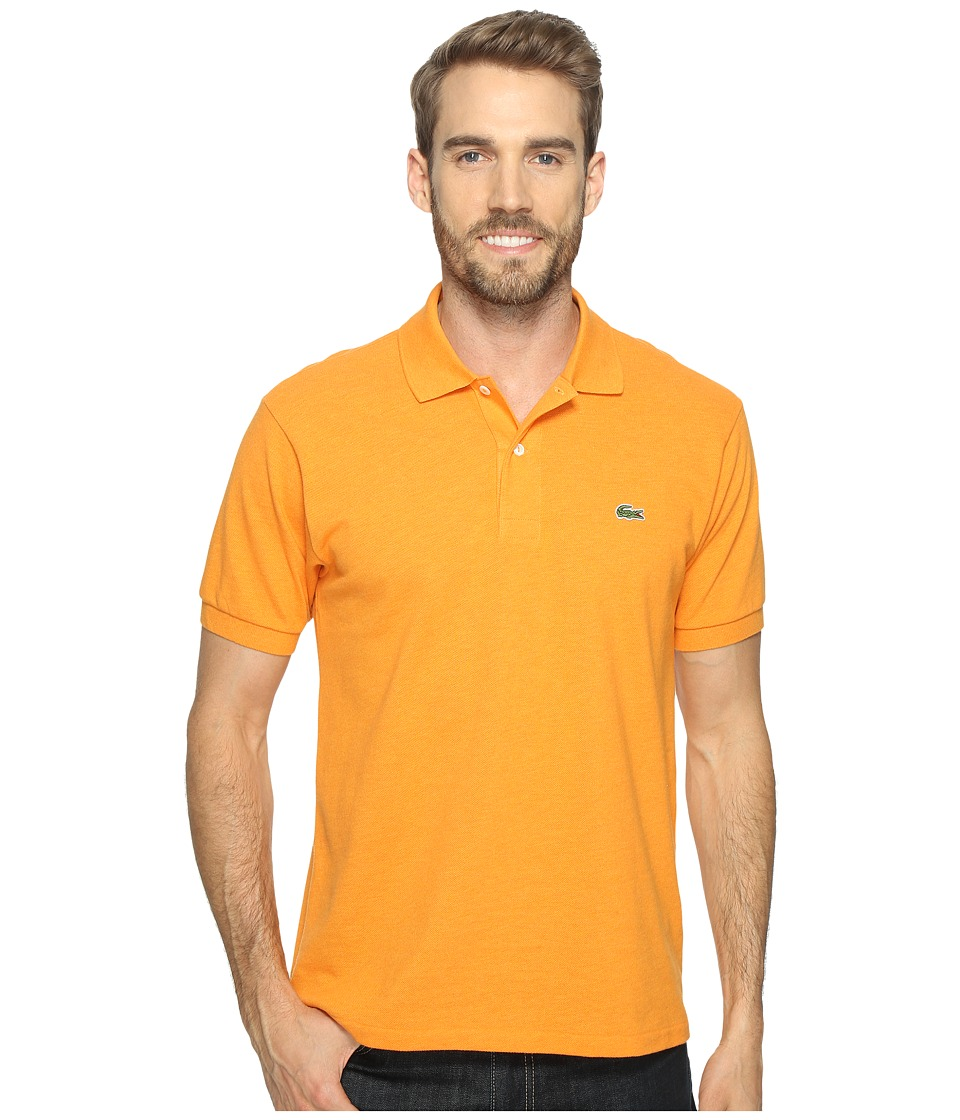 Lacoste - Short Sleeve Original Heathered Pique Polo (Buoy Chine) Men's Clothing