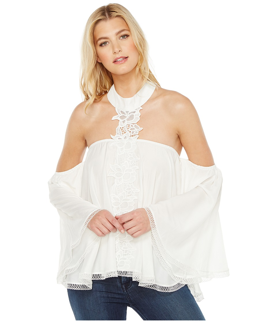 Union of Angels - Julieta Top (White) Women's Clothing