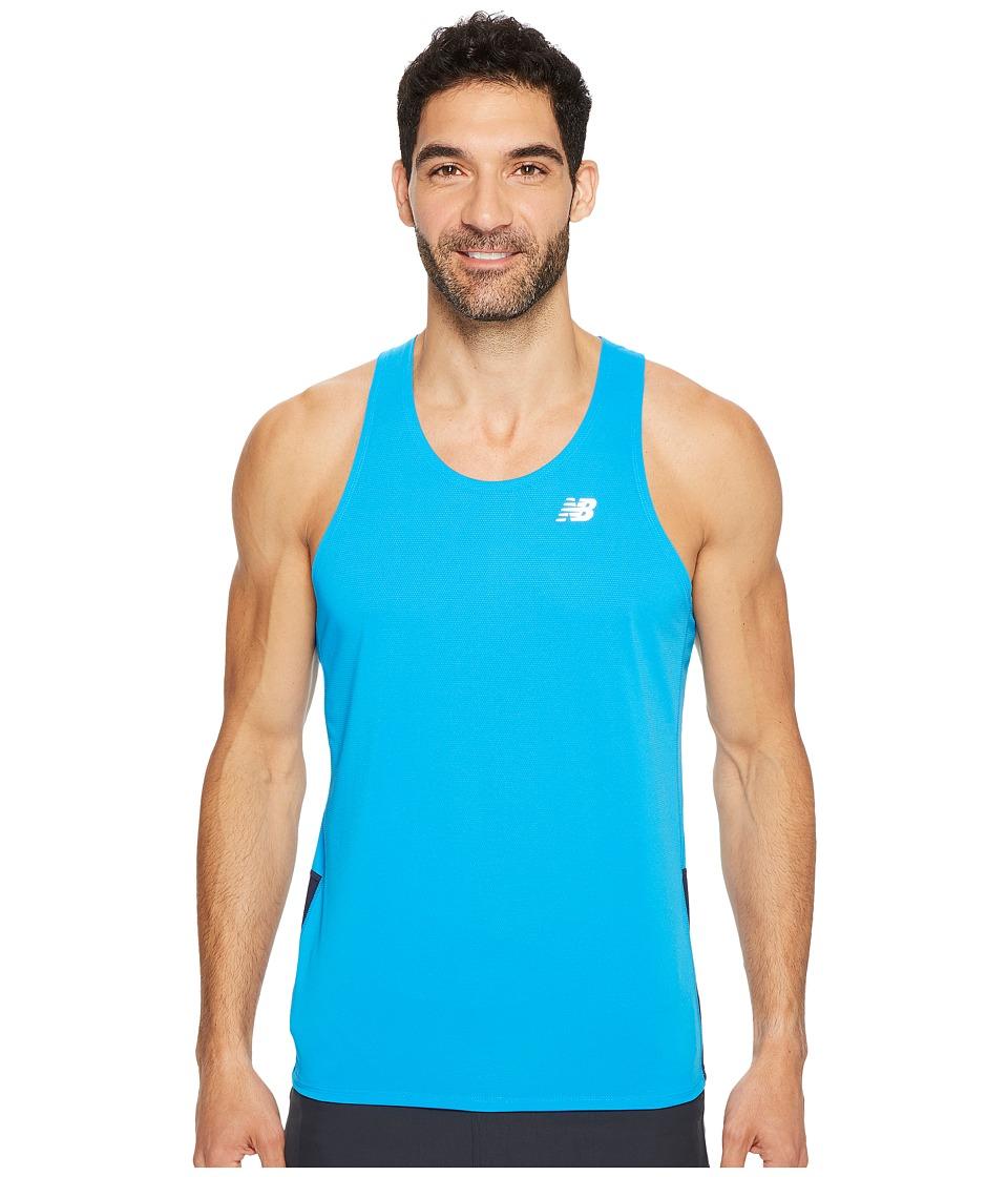 New Balance - Accelerate Singlet (Bolt Pigment) Men's Sleeveless