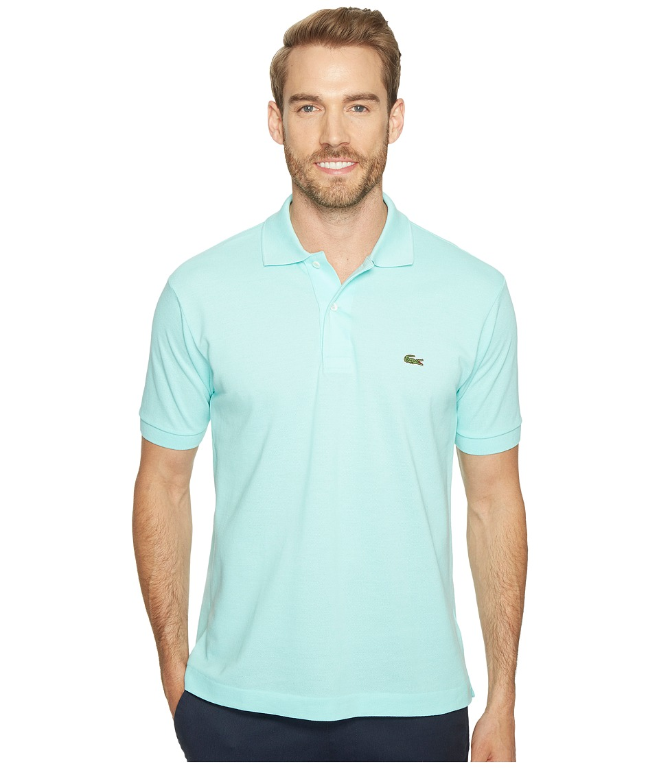 Lacoste - L1212 Classic Pique Polo Shirt (Eden) Men's Short Sleeve Knit