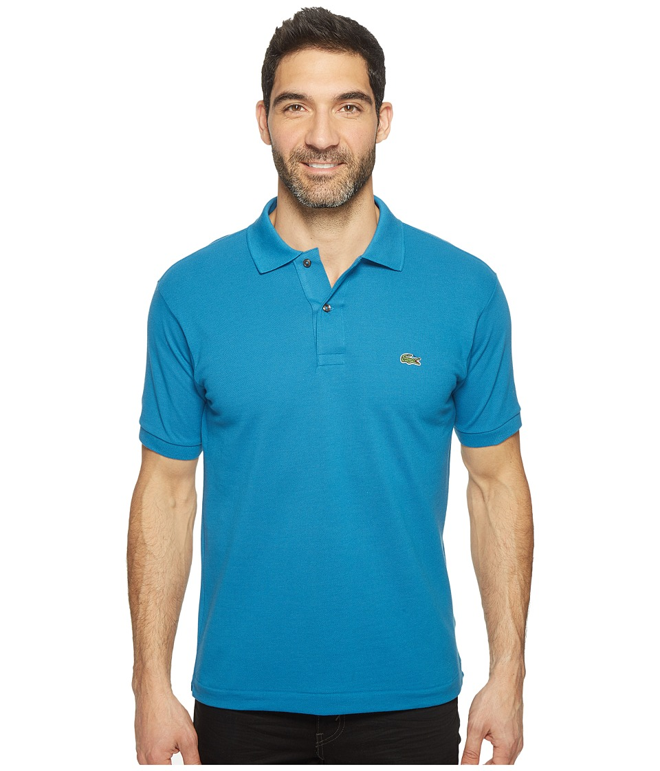 Lacoste - L1212 Classic Pique Polo Shirt (Mariner) Men's Short Sleeve Knit