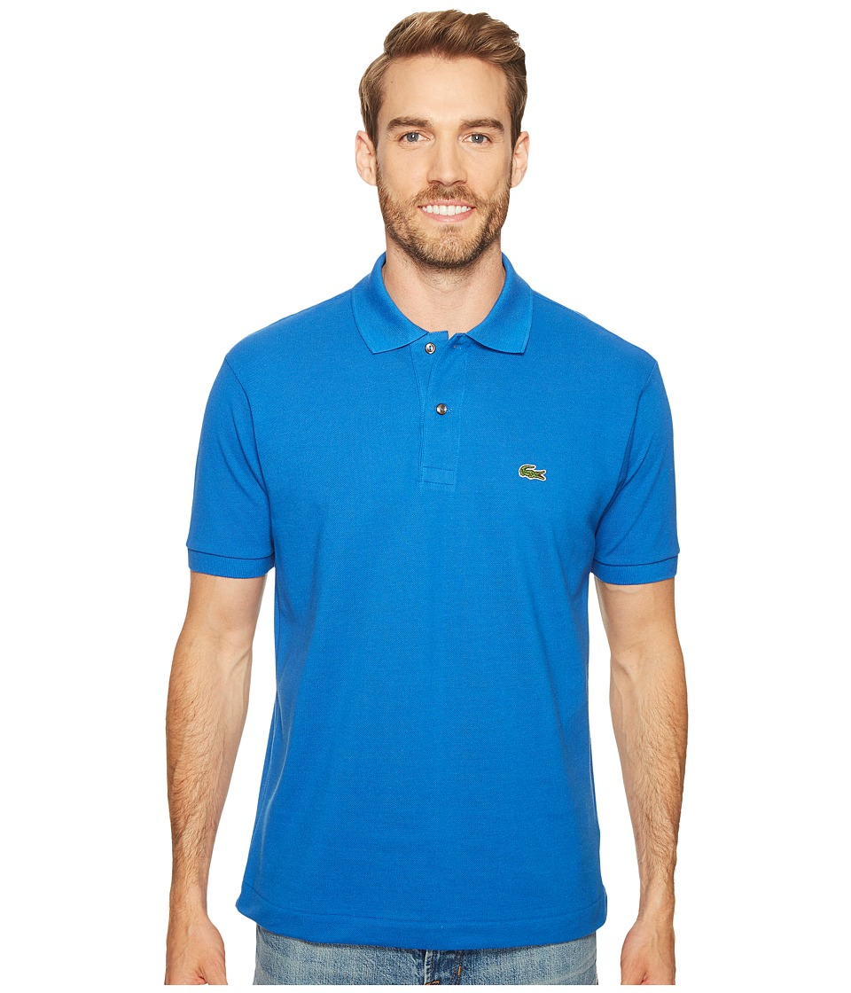 Lacoste - L1212 Classic Pique Polo Shirt (Olympus) Men's Short Sleeve Knit