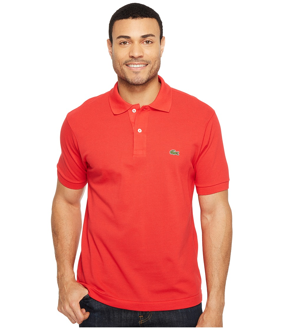 Lacoste - L1212 Classic Pique Polo Shirt (Grenadine) Men's Short Sleeve Knit