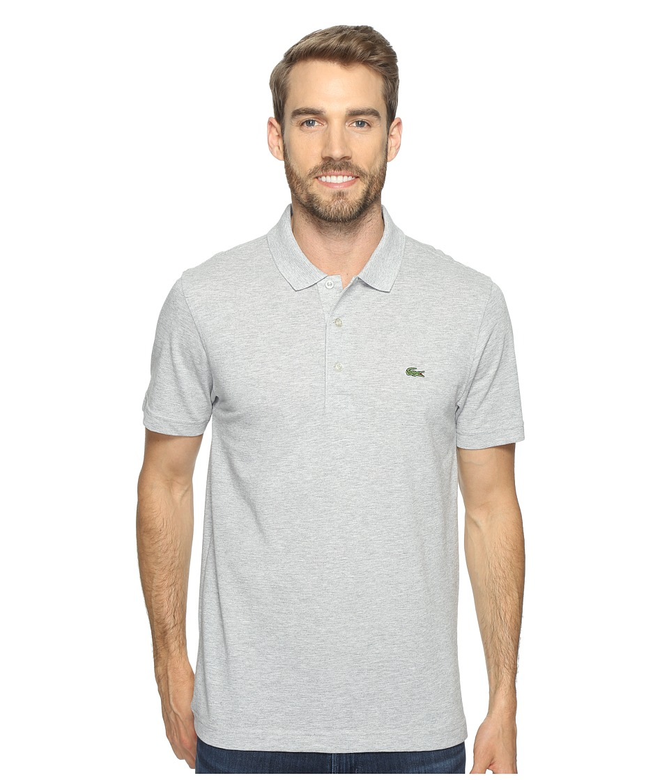 Lacoste - Sport Short Sleeve Super Light Polo Shirt (Silver Chine) Men's Short Sleeve Pullover