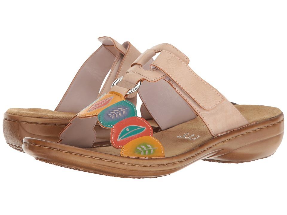 Rieker - 608R4 Regina R4 (Rose) Women's Shoes