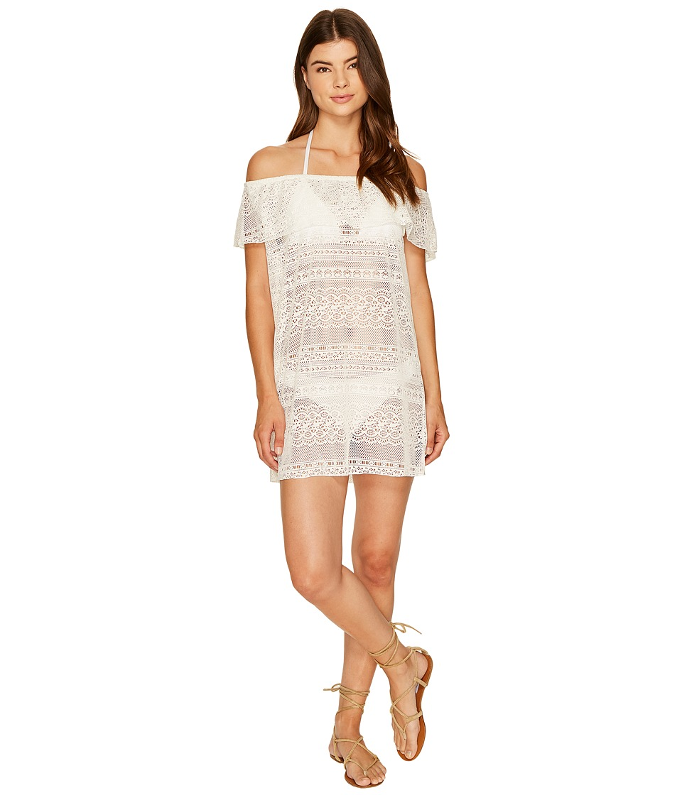 Roxy - Surf Bride Dress Cover-Up (Marshmallow) Women's Swimwear