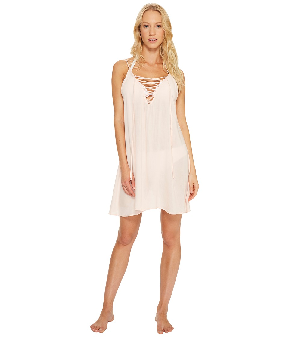 Roxy - Strappy Love Dress Cover-Up (Pale Dogwood) Women's Swimwear