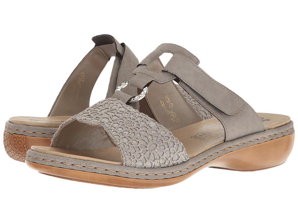 Rieker - 65943 Regina 43 (Staub Silver/Staub) Women's Shoes