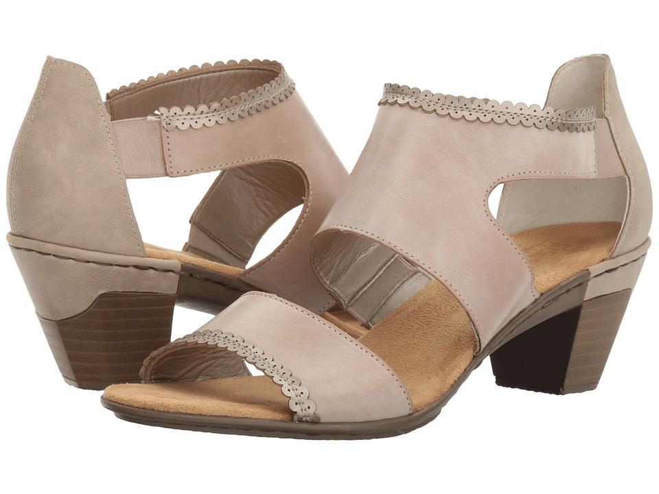 Rieker - 67358 Aileen 58 (Clay/Marble/Altsilber) Women's Shoes