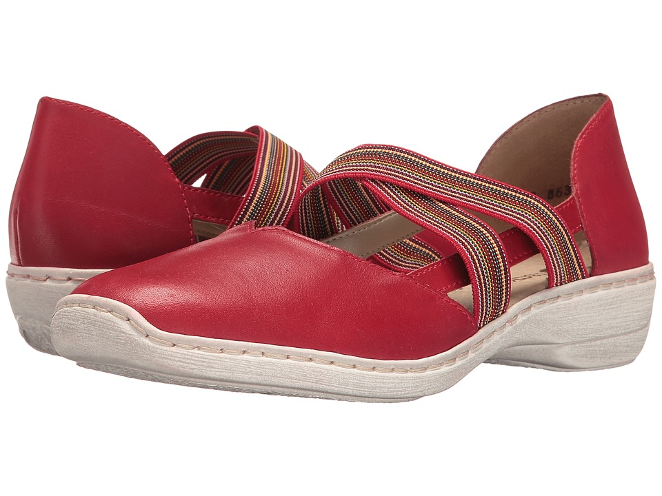 Rieker - D1647 Doris 47 (Rosso/Fire/Rosso) Women's Shoes