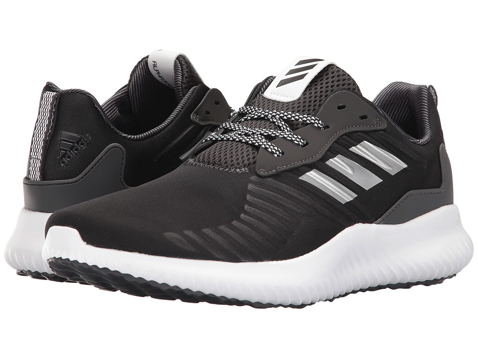 adidas - Alphabounce RC (Black/White/Black) Men's Running Shoes