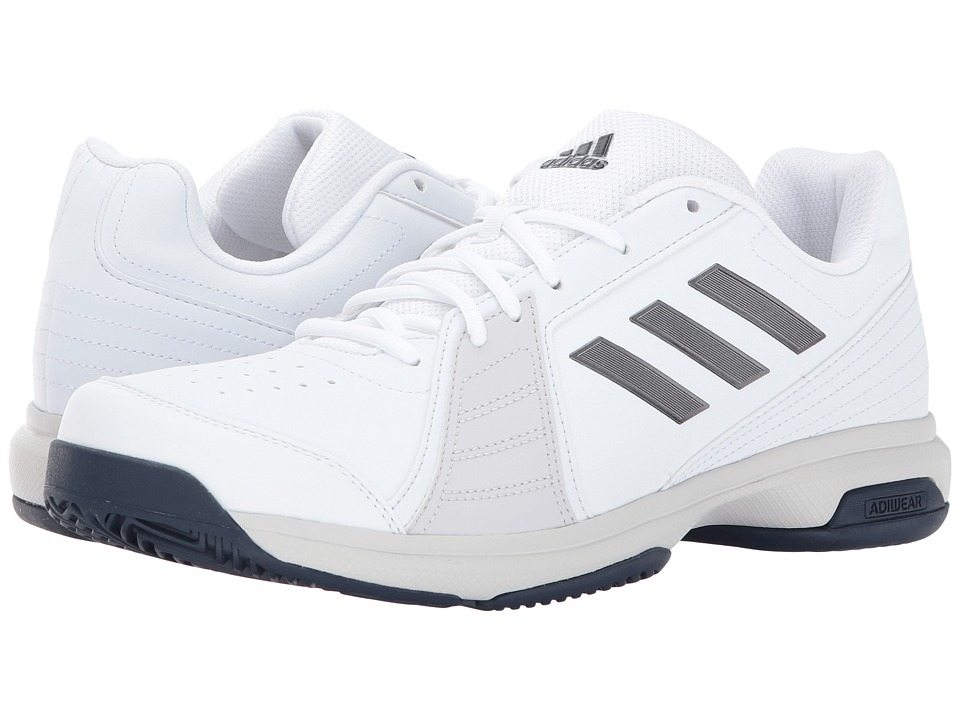 adidas - adiZero Approach (White/Night Metallic/Mystery Ink) Men's Shoes