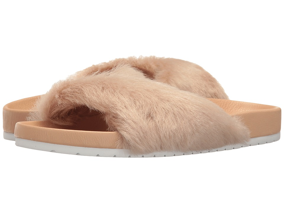 Vince - Garrison (Rose Faux Fur) Women's Shoes