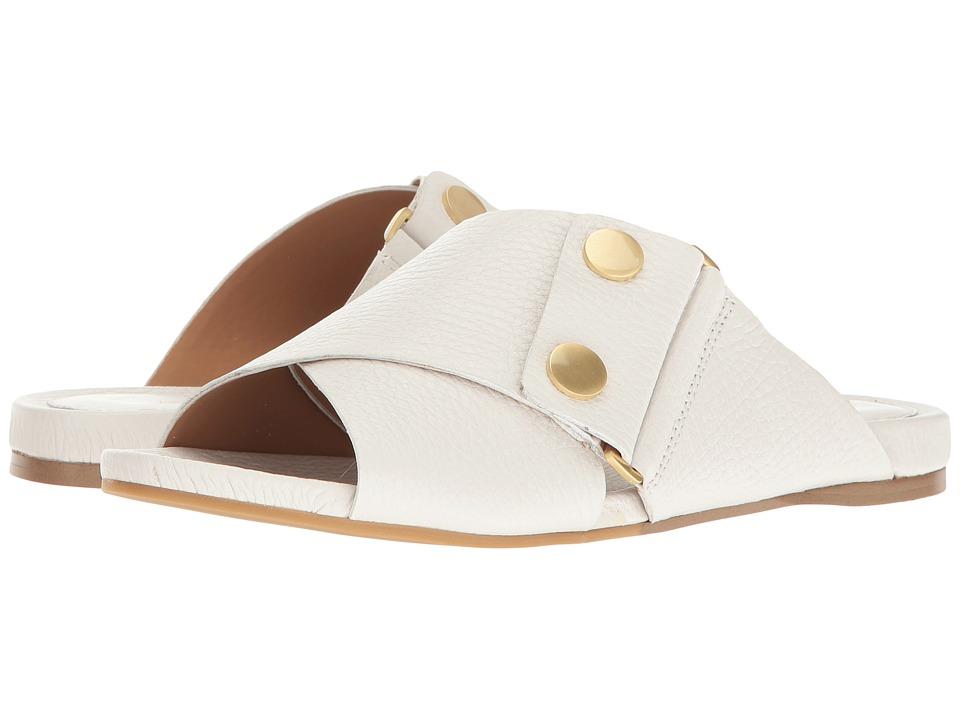 Calvin Klein - Pamice (Platinum White Leather) Women's Shoes
