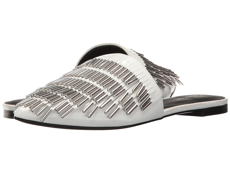 Calvin Klein - Addie (Platinum White Patent) High Heels