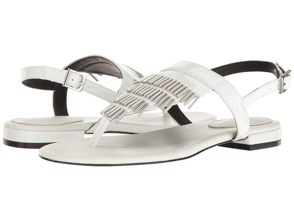 Calvin Klein - Evonie (Platinum White Patent) Women's Shoes