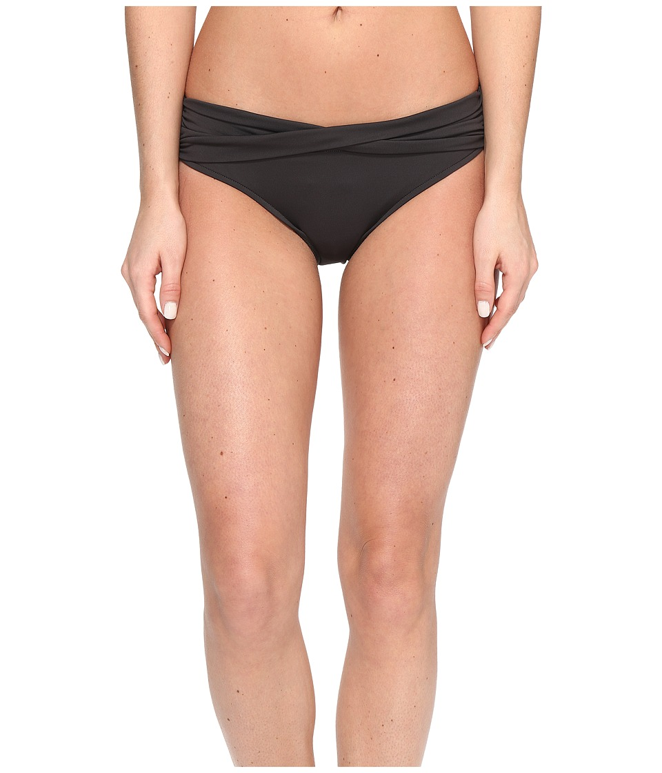 Seafolly - Twist Band Mini Hipster Bottom (Steel) Women's Swimwear