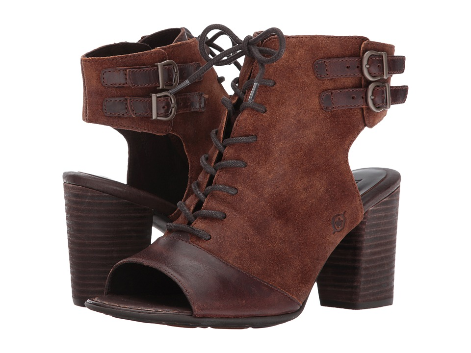 Born - Blane (Rust/Rust Combo) High Heels