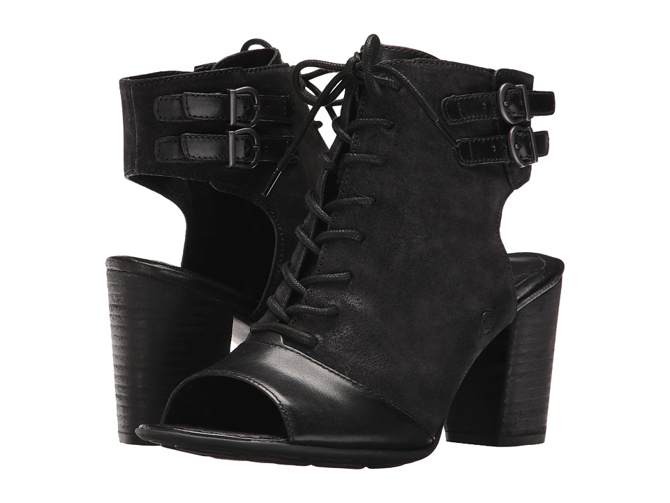Born - Blane (Black/Black Combo) High Heels