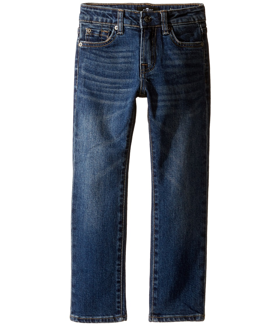 7 For All Mankind Kids Slimmy Foolproof Jeans in Visionary (Little Kids/Big Kids) (Visionary) Boy