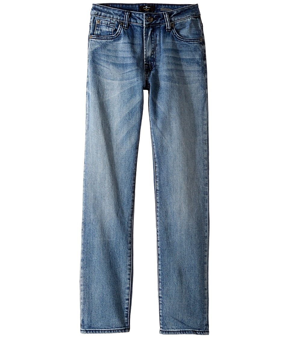 7 For All Mankind Kids - Slimmy Foolproof Jeans in Ivory Coast (Big Kids) (Ivory Coast) Boy's Jeans