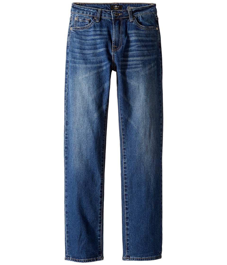 7 For All Mankind Kids - Slimmy Foolproof Jeans in Visionary (Big Kids) (Visionary) Boy's Jeans