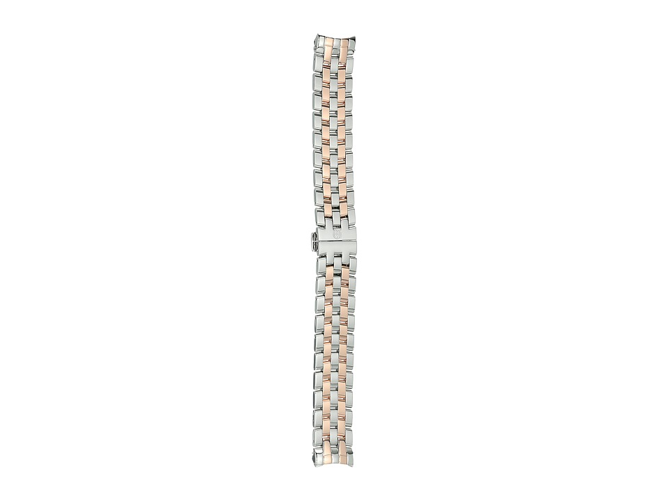 Michele - 18mm Belmore Two-Tone 5-Link Bracelet Rose Gold/Silver (Rose Gold/Silver) Watches