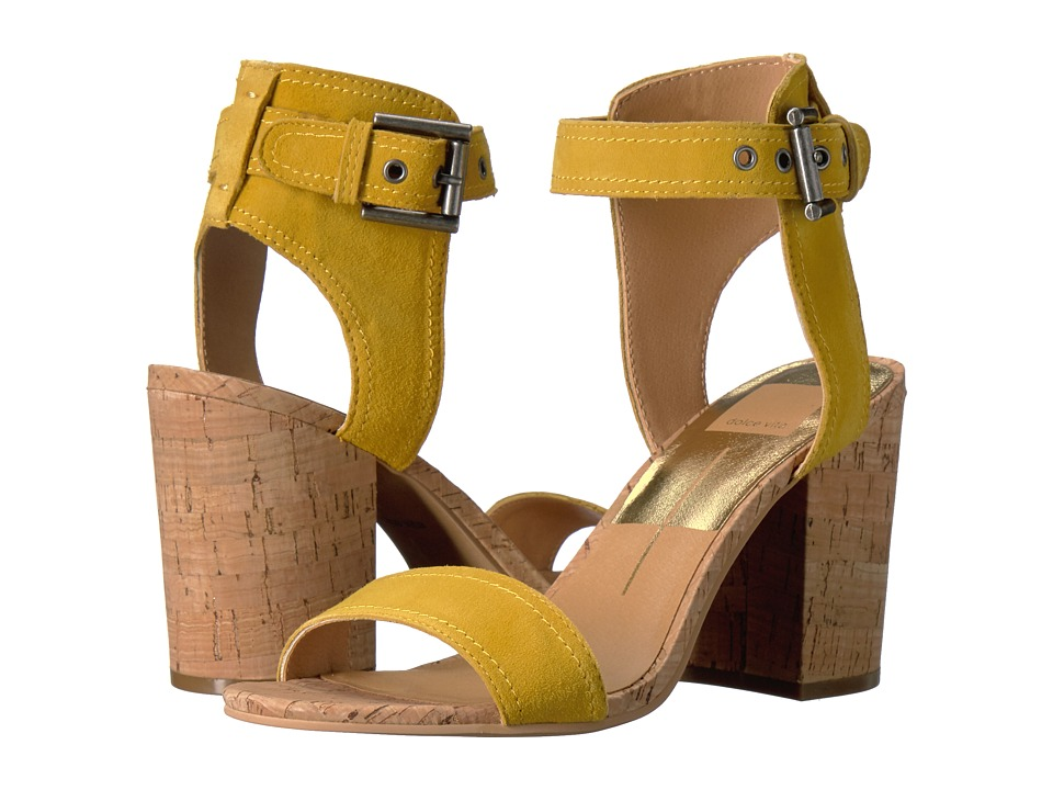 Dolce Vita Carley (Yellow Suede) Women